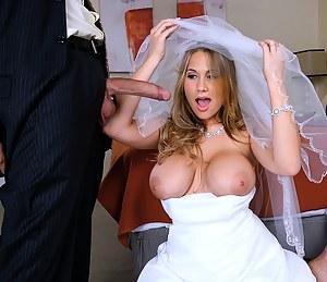 Big Tits Bride Porn Pictures